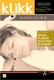 The ONKPARINGA ELECTRIC ULTIMATE MERINO WOOL FLEECE BLANKET