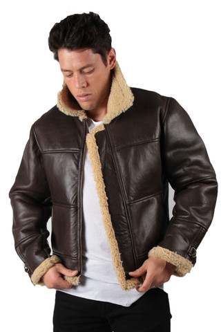 MENS SHEEPSKIN JACKETS &amp COATS : Ugg Boots Sheepskins and